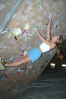 Watch How to Improve at Indoor Rock Climbing video
